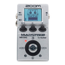 Pedaleira Pedal Zoom Ms 50g Multistomp Guitarra Ms-50g