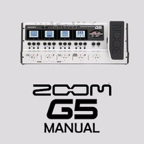 Manual Da Pedaleira Zoom G5 Completo Em Português Em Pdf