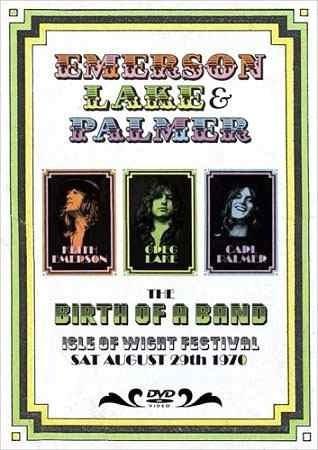 Dvd Emerson Lake & Palmer Birth Of A Band - Digipack Original