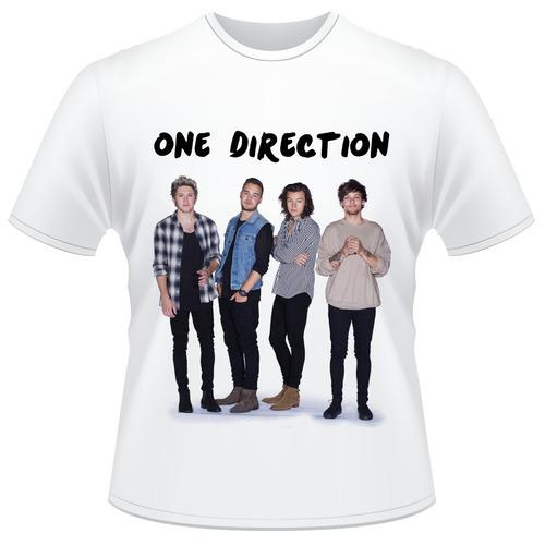 Camisa Infantil One Direction
