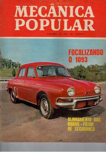 Revista Popular - Dezembro De 1963 Original