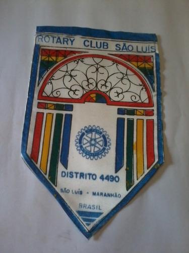 Antiga Flamula Rotary Club International São Luís Maranhão Original