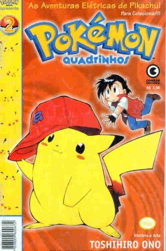 Pokémon Em Quadrinhos 2 * Ed. Conrad Original