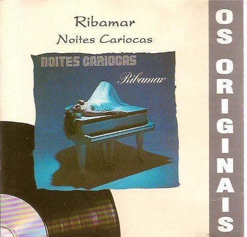 Cd Ribamar Noites Cariocas Semi Novo Raridade Original
