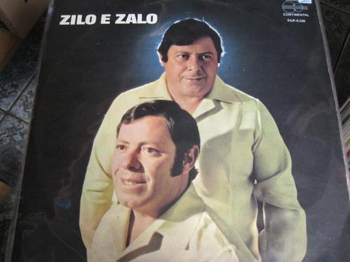 Lp  =  Zilo E Zalo - Grão De Areia Original