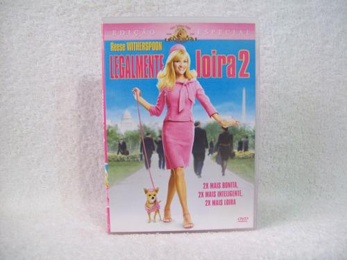 Dvd  Legalmente Loira 2- Edição Especial Original