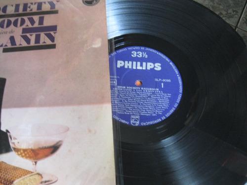 Lp  =  Leste Lanin E Sua Orquestra - High Society Ballroon Original