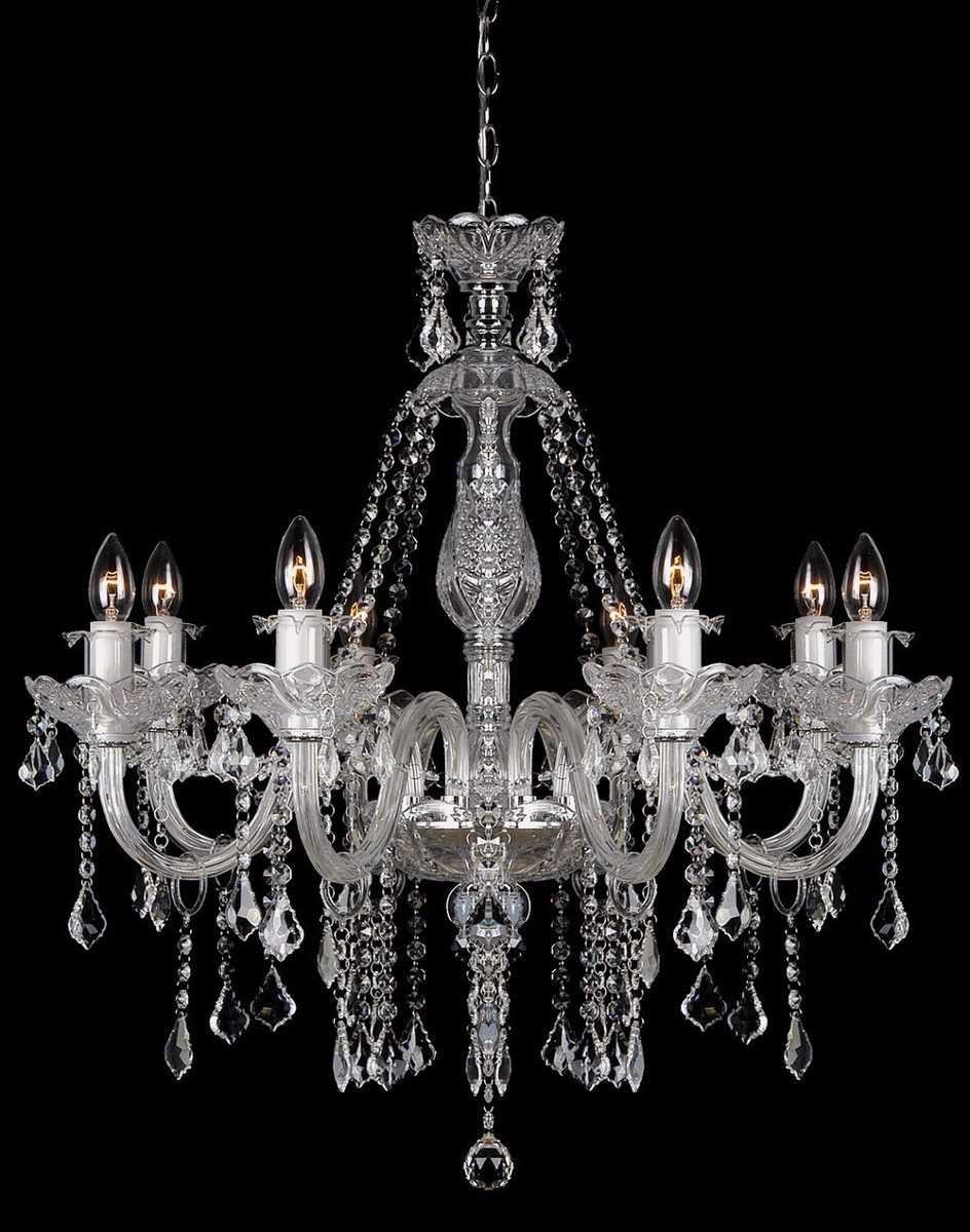 lustres cristal pendente para sala e para sala de jantar r em mercado livre. Black Bedroom Furniture Sets. Home Design Ideas