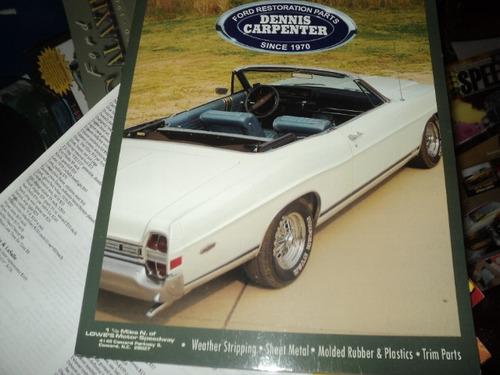 Ford  Catalogo De Peças E Acessorios 1965-72 Original