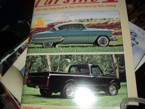 Chevrolet-trucks 1952-87 Catalogo De Peças E Acessorios Original