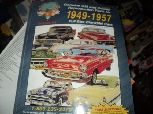 Chevrolet Catalogo De Peças E Acessorios 1949-57 Original