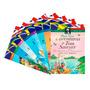 Coleção Clássicos Bilingue 8 Livros Português E Inglês Luxo