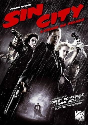 Dvd Sin City  A Cidade Do Pecado Original