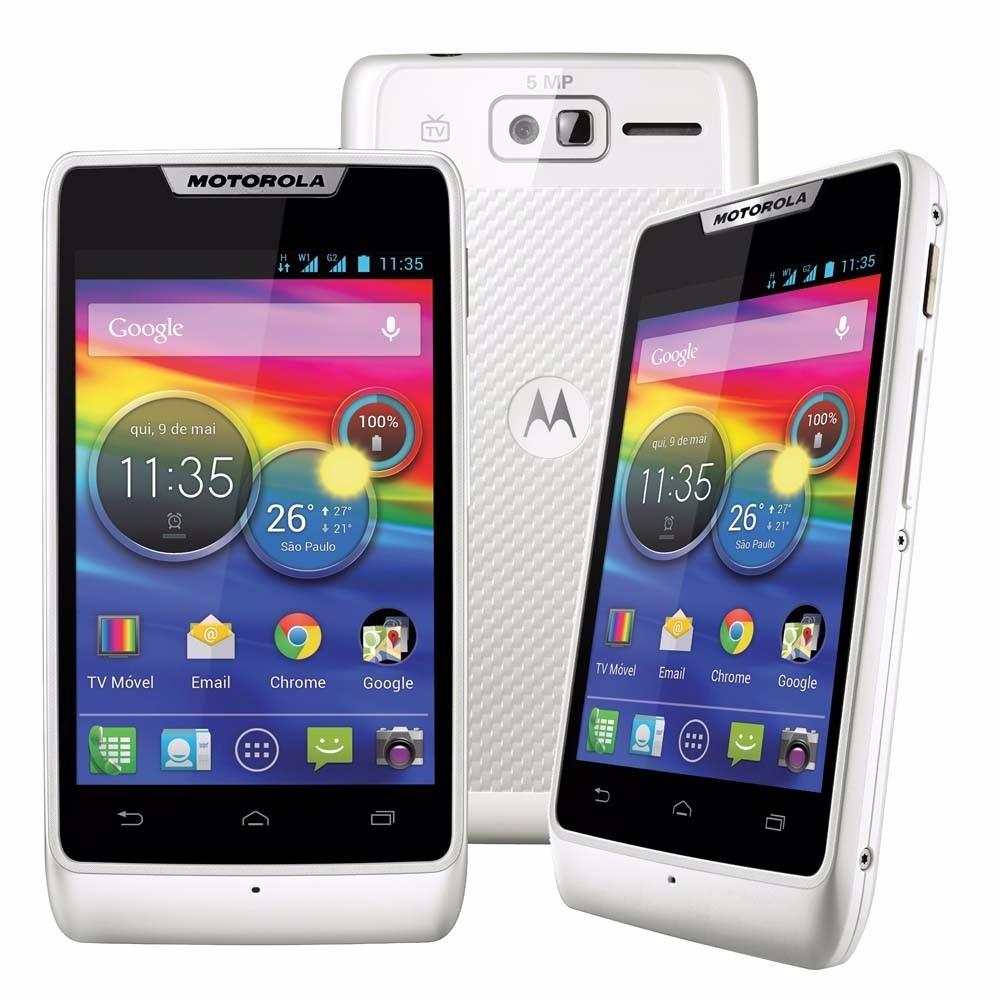 Celular Motorola Razr D1 Com Tv - Branco