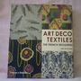 Livro Art Deco Textiles The French Designers