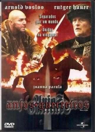 Dvd - Anjos Guerreiros - Rutger Hauer / Arnold Vosloo Original