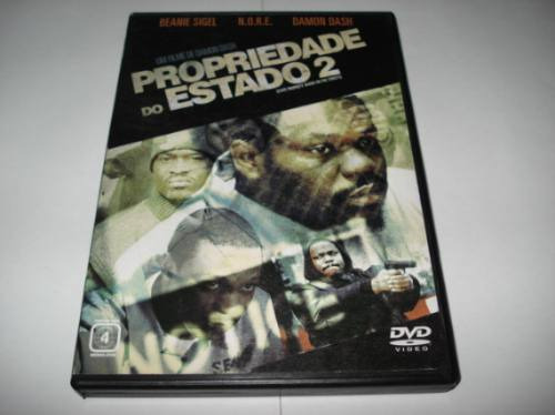 Dvd Propriedade Do Estado 2 Com Beanie Sigel Original