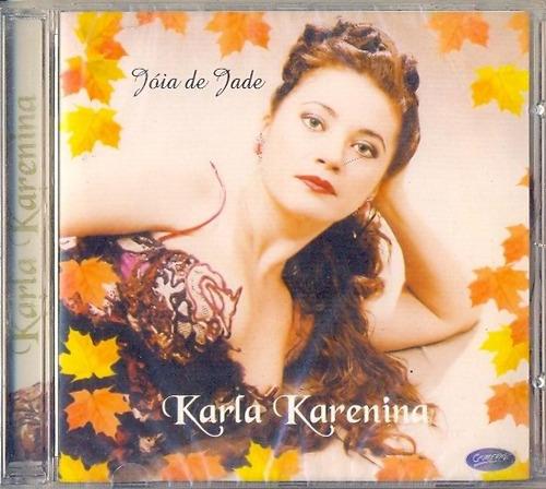 Cd Karla Karenina - Jóia De Jade - 1997 - Ednardo Original