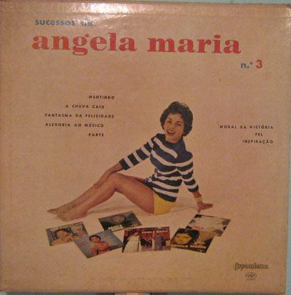 Angela Maria  -  Sucessos De Angela Maria Nº 3  10 Polegadas Original