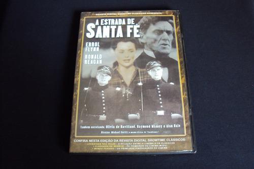 Dvd A Estrada De Santa Fé - Errol Flynn,ronald Reagan Original