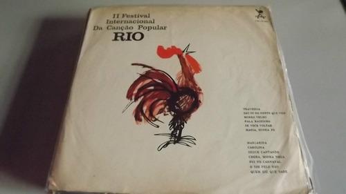 Ii Festival Int. Da Canção Popular Rio-milton  Original