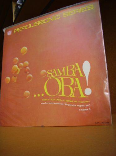 Vinil Samba.. Oba! - Percussonic Series Original