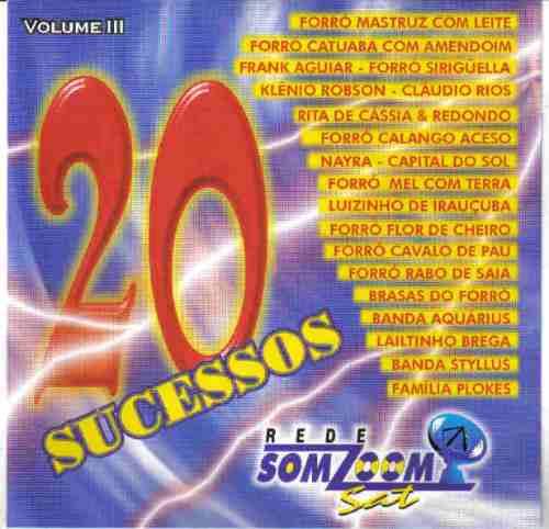 Forró 20 Sucessos Somzoom Vol 3 Cavalo De Pau Original