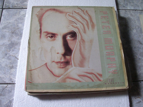 Lp Peter Murphy-love Hysteria - 1988 Original