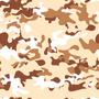 Papel De Parede Camuflado Marrom 0, 58 X 3, 00m