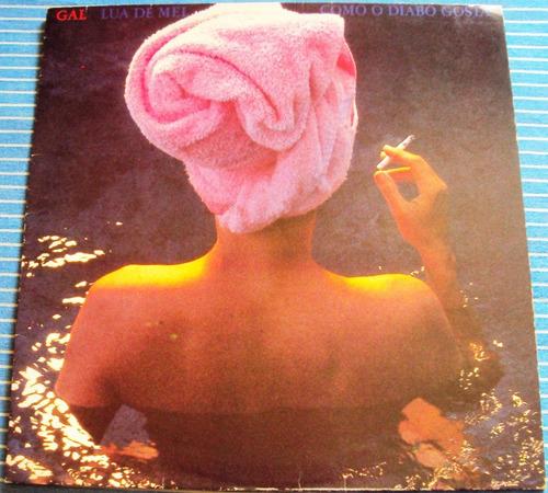 574 Mvd- Lp 1987- Gal Costa- Lua De Mel- Mpb- Vinil Original
