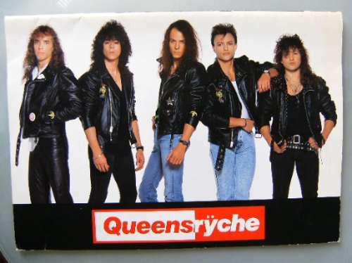 Queensryche Tourbook Japonês Operation Mindcrine Original