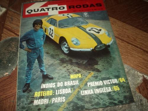 Quatro Rodas N55 Fevereiro 1965 Original