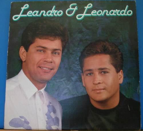 Lp - Leandro E Leonardo - Chantecler 1991 - Stereo C/encarte Original