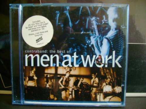Men At Work - Contraband :the Best Of(importado - Usa) Original