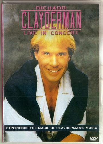 Dvd Richard Clayderman - Live In Concert Original