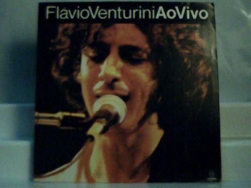 Flavio Venturini Ao Vivo /princesa Vinil Disco Somlivre 1992 Original