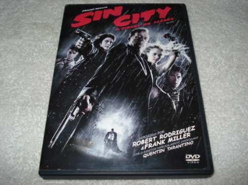 Dvd Sin City A Cidade Do Pecado De Quentin Tarantino Original