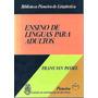 Livro Ensino De Línguas Para Adultos Frans Van Passel