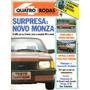Quatro Rodas Nº298 Monza Vw Quantum D20 Escort Uno Cabriolet