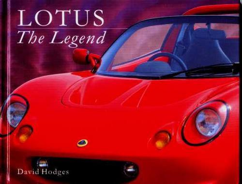 Lotus - The Legend - David Hodges - Edição De Luxo - 1997 Original