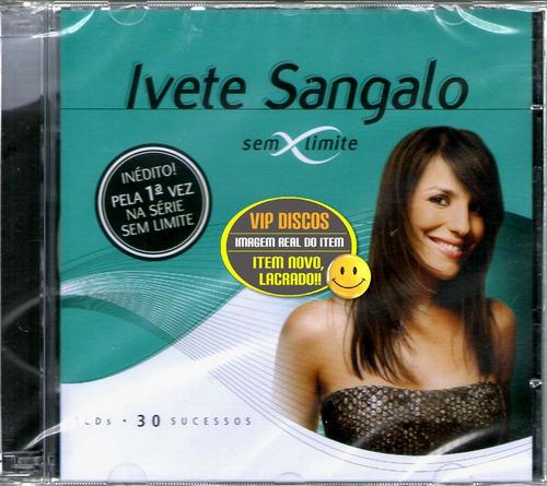 Cd Ivete Sangalo Sem Limite Duplo - Novo Lacrado Raro Original