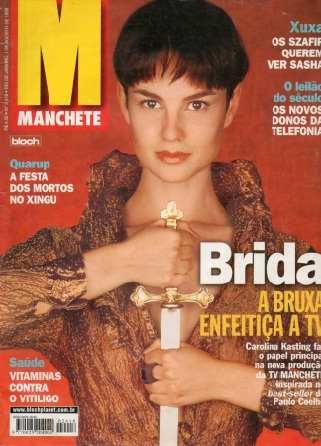Manchete 1998 Romero Britto Fagner Daniel Gianne Albertoni Original