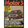 Motor 3 N°79 Vw Fox Santana Del Rey Escort Xr3 Conversível