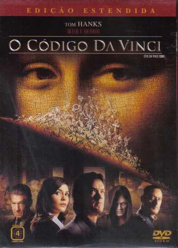 O Código Da Vini - Edição Extendida -- Em Dvd Lacrado Original