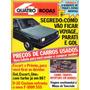 Quatro Rodas Nº299 Pick up D20 Custom F1000 Sss Escort