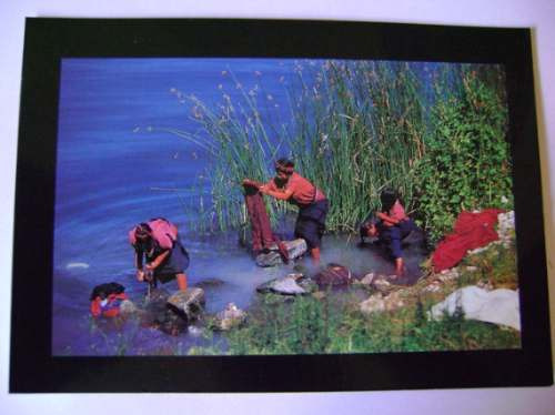 Cartão Postal Guatemala - Muito Bonito!!! Original