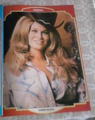 Poster Da Atriz Americana Karen Black 1979 Original