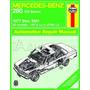 Manual Haynes De Mercedes W123 Classe E 250 & 280 1976/1984