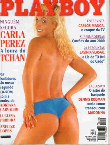 Playboy 255 * Carla Perez * Rodman * Vlasak * Galisteu Original