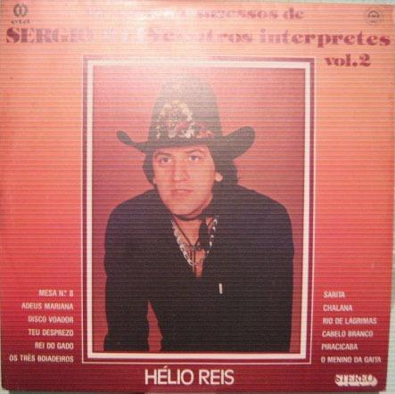 Hélio Reis - Os Grandes Sucessos  Sergio Reis - Vol-2 - 1984 Original